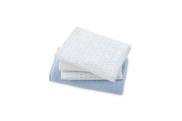 Mothercare Cot Bed Starter Set - Blue