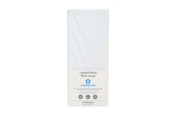 Mothercare Fitted Cot Bed Waterproof Mattress Protector