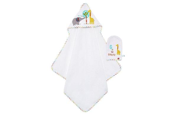 Mothercare Hello Friends Baby Towel Mitt Set