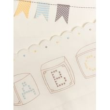 Mothercare Teddy'S Toy Box Flat Cot Bed Sheets