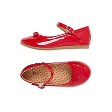 Red Glitter Bow Shoes