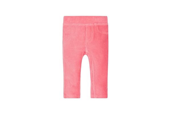 Pink Cord Jeggings