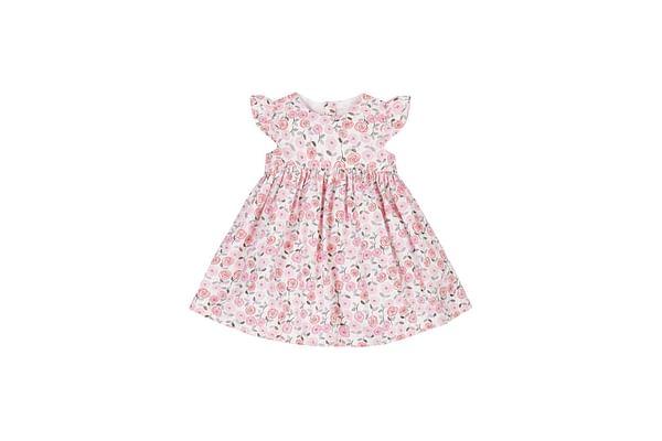 Woven Rose Dress