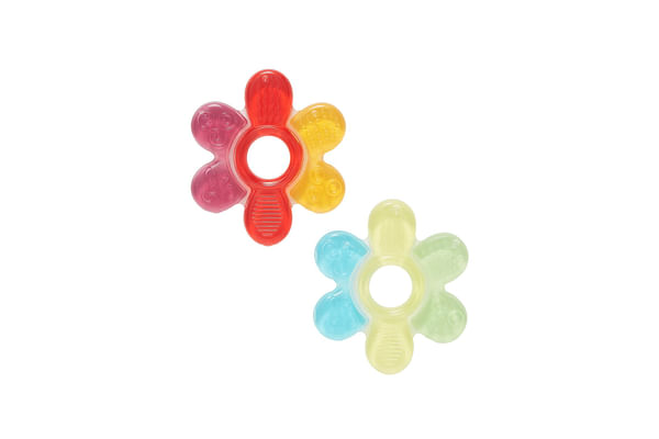 mothercare flower teether - 2 pack