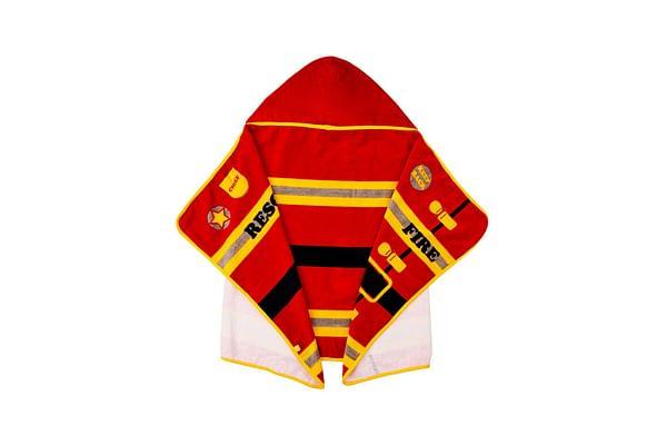 Mothercare Fireman Dress Up  Baby Towel