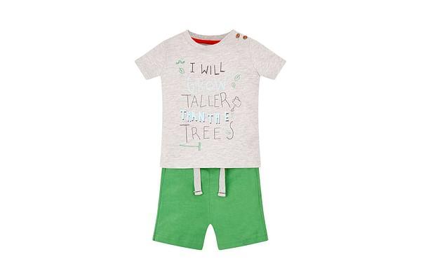 Taller Than Trees T-Shirt And Shorts Set
