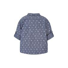 Dark Blue Nautical Shirt
