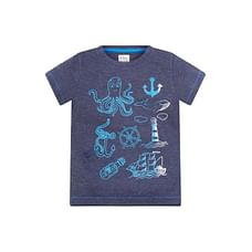 King Of The Sea Navy Tonal T-Shirt