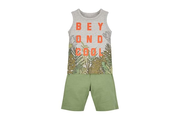 Beyond Cool Vest And Shorts Set