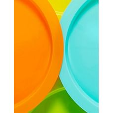 Mothercare Essential Plates - 5 Pack