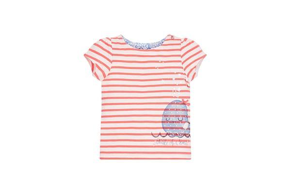 Striped Whale T-Shirt