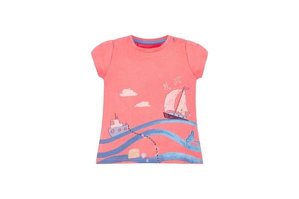Coral Seaside T-Shirt
