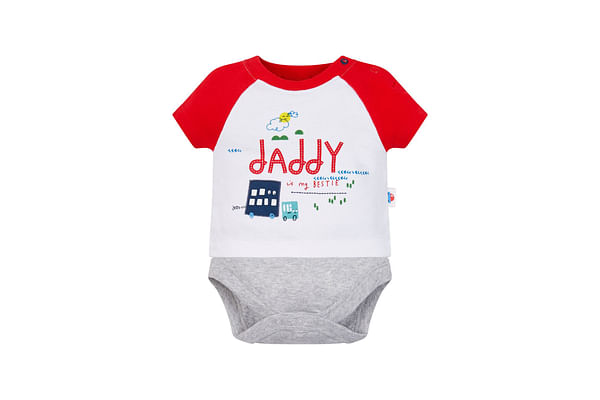 Bestie Daddy Mock T-Shirt Bodysuit
