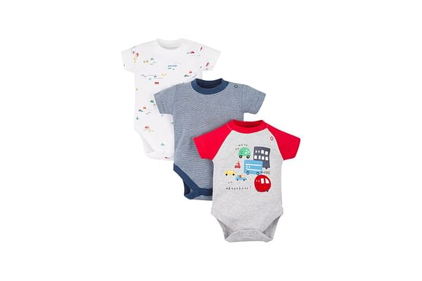 On An Adventure Bodysuits - 3 Pack