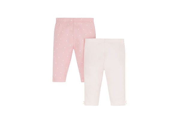 My First Pink Leggings - 2 Pack