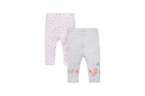 Ditsy Floral Leggings - 2 Pack