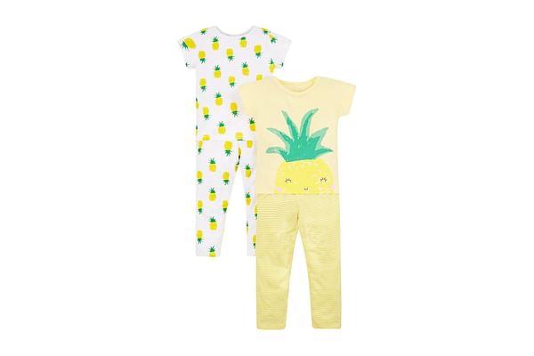 Pineapple Pyjamas - 2 Pack