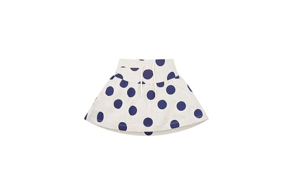 Grey Spotted Skirt