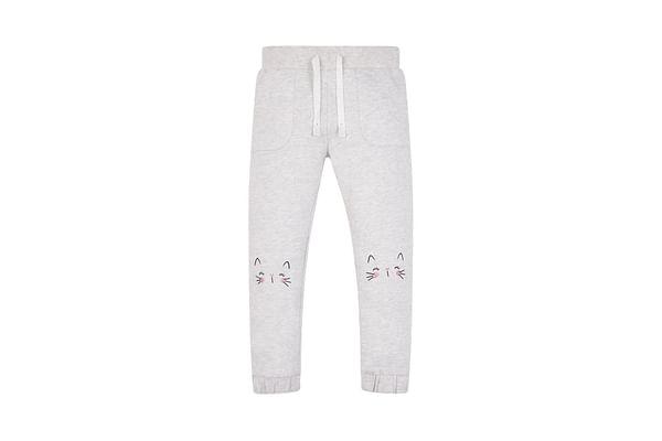 Grey Cat Joggers