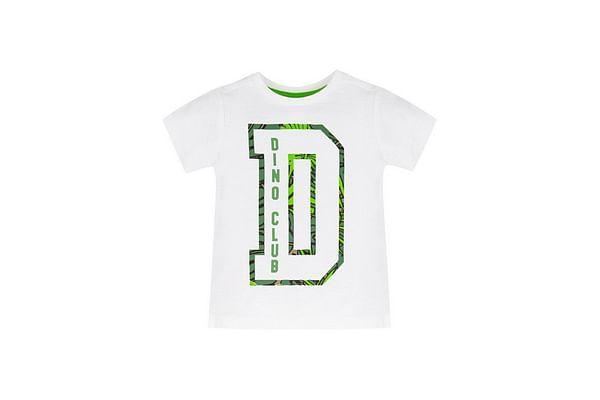 White Dino Club T-Shirt