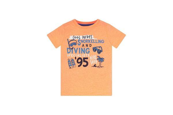 Orange Cool Dudes T-Shirt