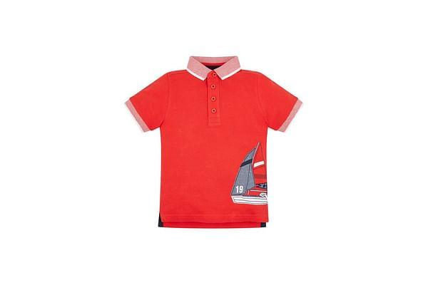 Red Sailboat Polo Shirt