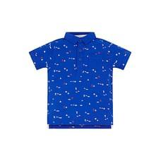 Blue Sailor Polo Shirt