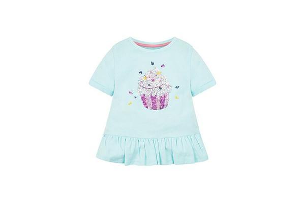 Cupcake Peplum T-Shirt
