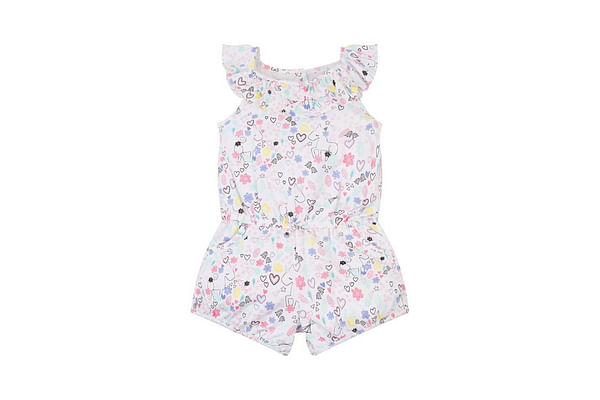 Unicorns And Hearts Playsuit