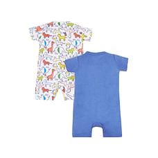Safari Rompers - 2 Pack