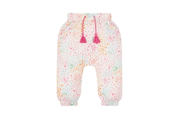 Floral Frill Pocket Trousers