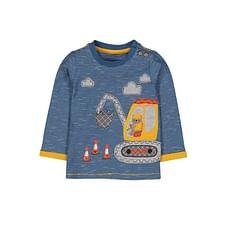 Blue Stripe Digger T-Shirt