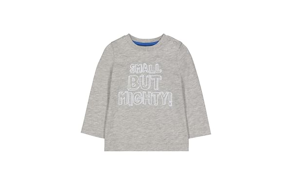 Grey Small But Mighty T-Shirt