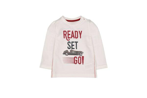 Cream Ready Set Go T-Shirt