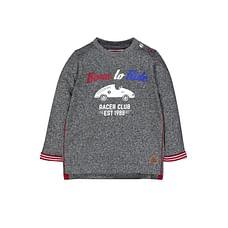 Grey Born To Ride T-Shirt