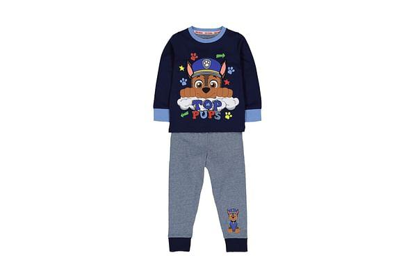 Boys Full Sleeves Pyjamas Paw Patrol Print - Blue