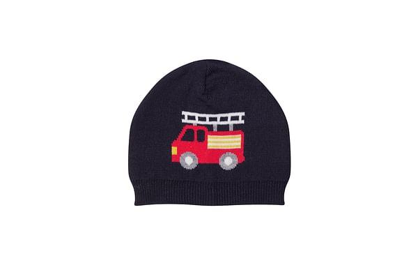 Fire Engine Knit Beanie