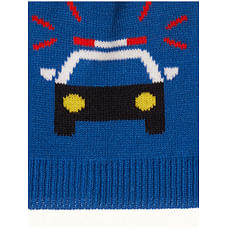 Police Car Knit Beanie