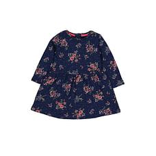 Blue Floral Sweater Dress