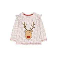 White Reindeer Spot T-Shirt