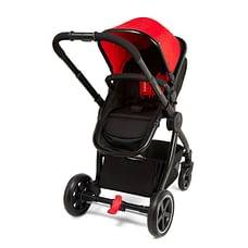 mothercare journey chrome travel system - red