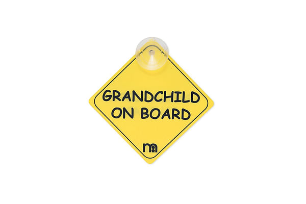 mothercare grandchild on board sign