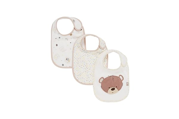 Mothercare Teddy'S Toy Box Baby Bibs