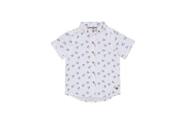 White Palm Trees Shirt