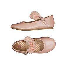 Pink Flower Ballerina Shoes