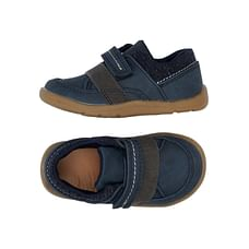 Boys First Walker Shoes - Navy