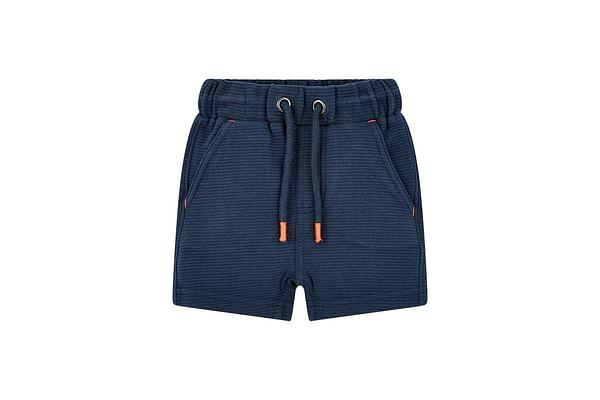 Boys Shorts Textured - Navy