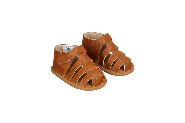 Tan Fisherman Baby Sandals