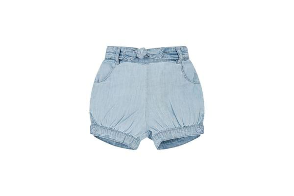 Light Wash Denim Bloomer Shorts