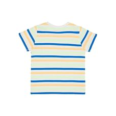 Boys Half Sleeves T-Shirt Stripe - Blue